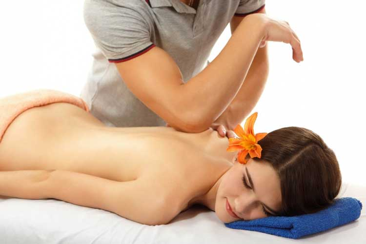 Woman sleeping enjoying Deep Tissue Massage near Memphis