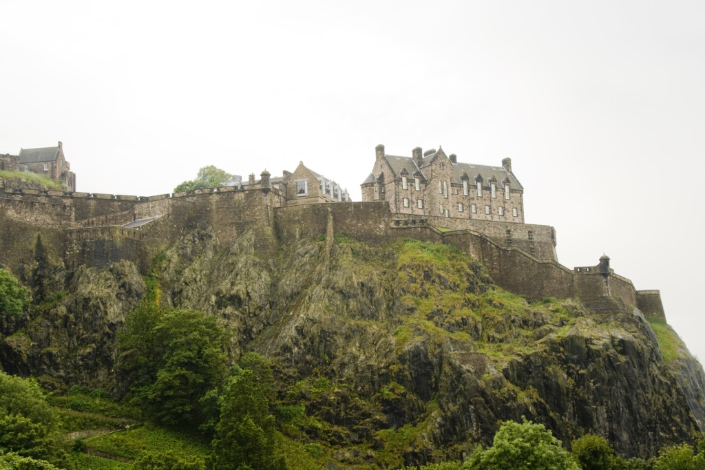 castle on a cliff